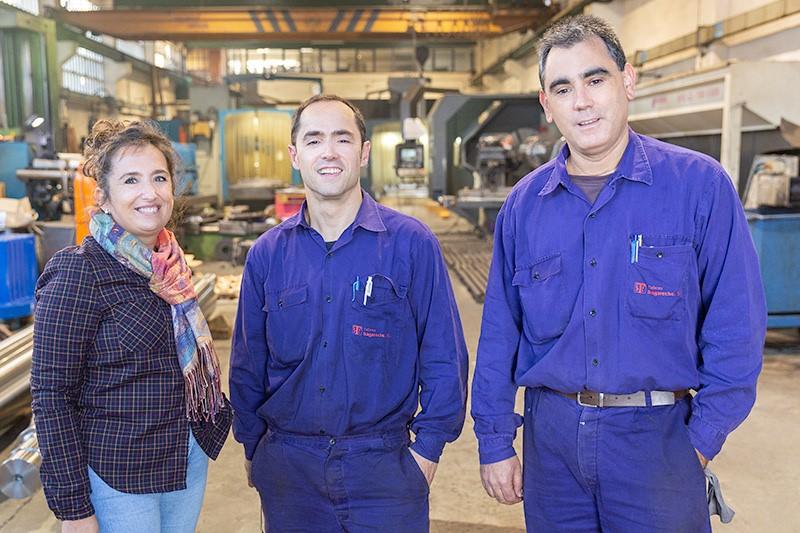 Talleres Sagareche. Segunda generación de mecanizados de piezas bajo plano.