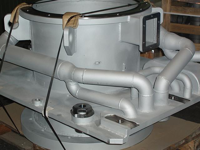 Mecanizado y calderería de piezas bajo plano. Talleres Sagareche.